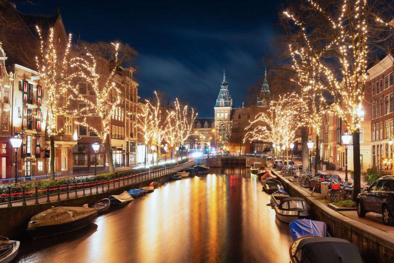 Winter Festival Amsterdam Map