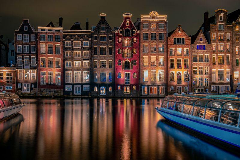 Canal Cruise Light Amsterdam