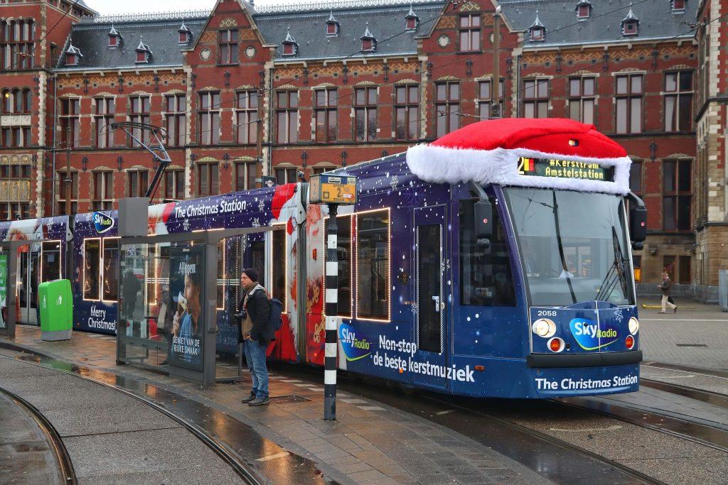 Tram Amsterdam Christmas